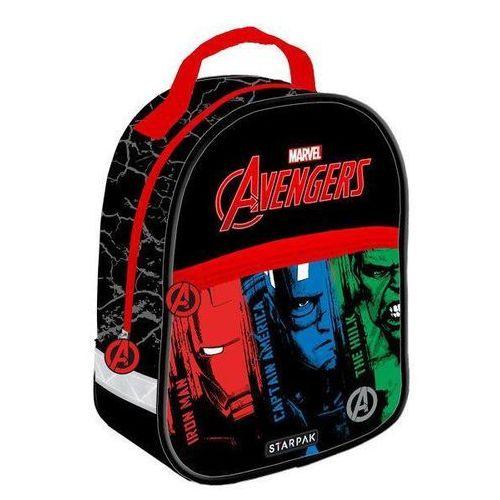 193c569aedcdb Plecak mini Avengers STARPAK 37,60 zł Plecak mini jest idealny na wycieczki  dla przedszkolaka i pierwszaka. Plecak jednokomorowy z dopełniającą  kieszenią.