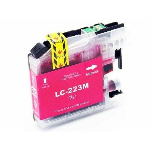 Dd-print Lc223m tusz czerwony do brother dcp-j4120dw mfc-j4420dw / nowy zamiennik / 17ml