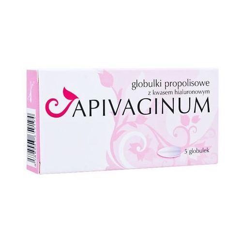 Vitaprodukt Apivaginum globulki propolisowe z kwasem hialuronowym dopochwowe 5gałek