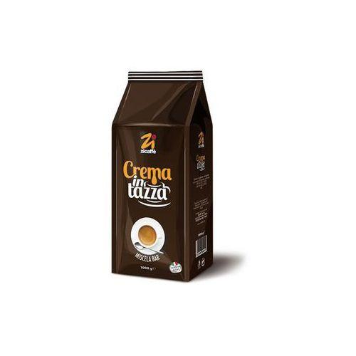 Kawa ziarnista crema in tazza marki Zicaffe
