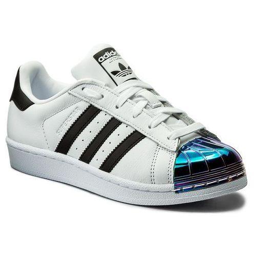 Adidas Buty - superstar mt w cq2610 ftwwht/cblack/supcol