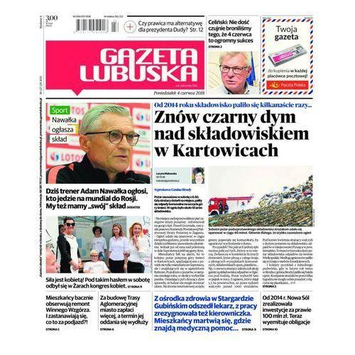 Gazeta Lubuska - B Żary, Żagań, Nowa Sól, Wschowa, Głogów, Polkowice 127/2018