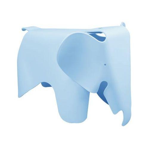 Stołek plastikowy SŁONIK niebieski - polipropylen (5900168808751)