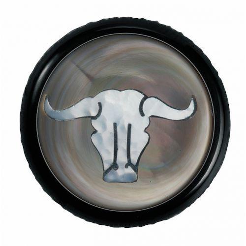 Warwick regler knopf, rund 6mm, bullskull, sw gałka potencjometru, round 6mm, bullskull, bk