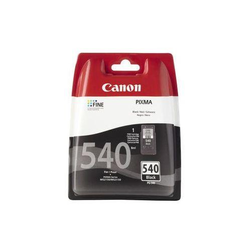 Canon tusz PG-540 Black BLISTER Darmowy odbiór w 19 miastach!, kolor Czarny