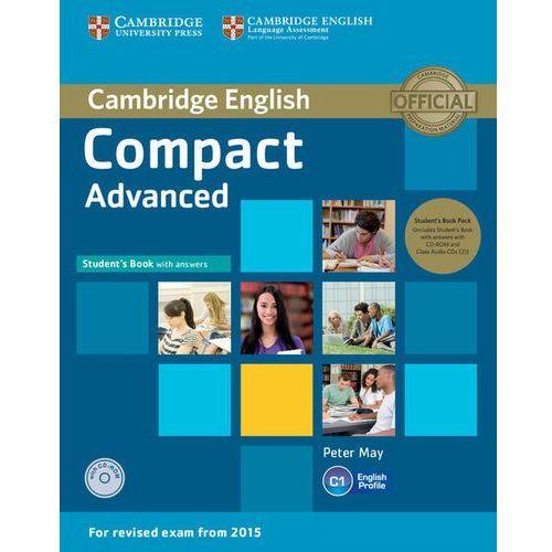 Compact Advanced. Podręcznik z Kluczem + CD-ROM + CD, oprawa miękka