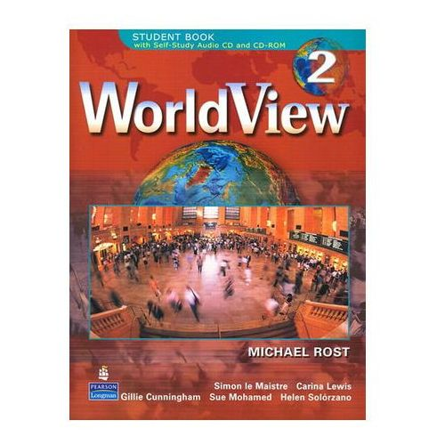 WorldView 2 with Self-Study Audio CD and CD-ROM Workbook Drosten Michaela