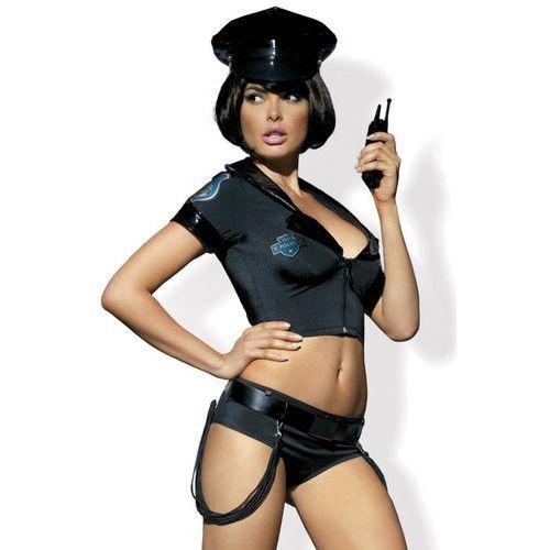 Kostium Obsessive Police Set w kolorze czarnym - produkt z kategorii- garsonki i kostiumy