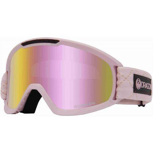 Dragon Gogle snowboardowe - dr dx2 bonus blush llpinkion+lldksmk (682) rozmiar: os