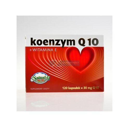 Koenzym q10 naturell 30 mg+wit e x 120 kaps (kapsułki)