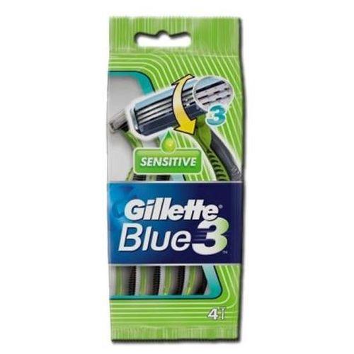 Blue 3 Sensitive jednorazowe maszynki do golenia 4szt (7702018011551)