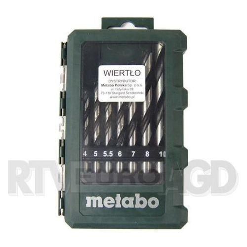 Metabo  8 wierteł (626705000) - produkt w magazynie - szybka wysyłka!