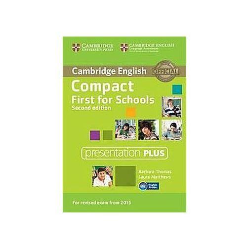 Compact First for Schools Presentation Plus DVD-ROM (Płyta DVD) (9781107416048)