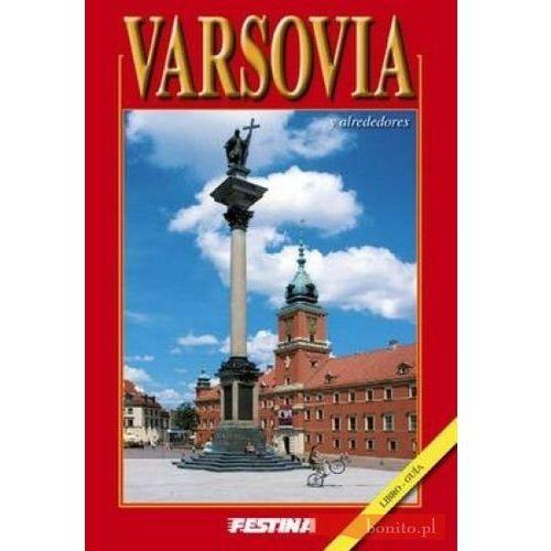Warszawa i okolice. Wersja hiszpańska, oprawa broszurowa