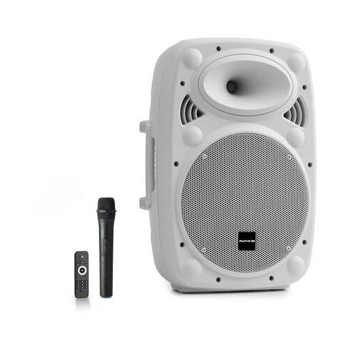 """Auna Pro Streetstar 10 przenośny zestaw PA 10"""" (25,5 cm) mikrofon UHF maks. 400 W biały"""
