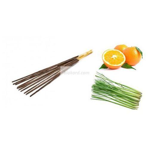 Kadzidełka aromatyczne pomarańcza i trawa cytrynowa, 100% naturalne/ marki Aromatika