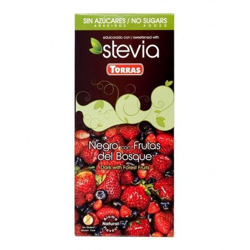 Torras Czekolada stevia owoce leśne 125g