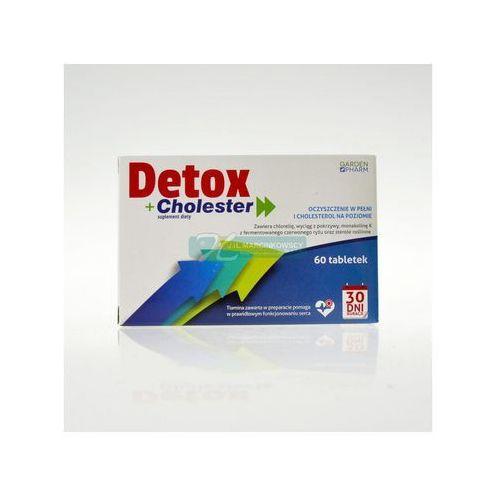 CHOLESTER DETOX 60 tabletek z kategorii Tabletki na odchudzanie