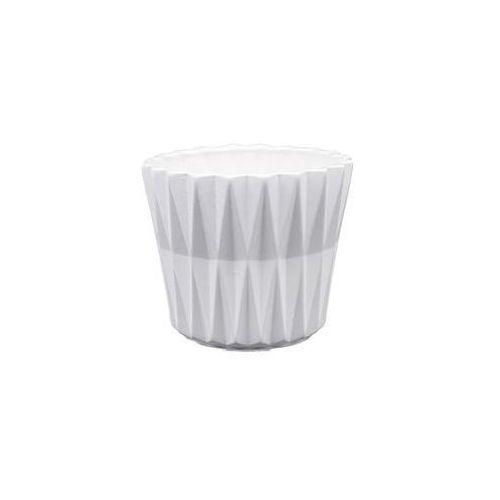 Eko-ceramika Osłonka geometric 2 j15 16,5 x 16,5 x 16.5 cm