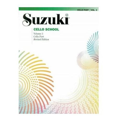 Suzuki Cello School, Vol 3, Suzuki, Dr. Shinichi