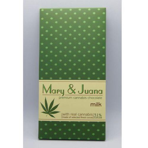 Mleczna czekolada konopna Mary&Juana 80g