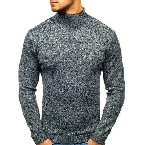 Sweter męski golf szary denley h1801 marki Hot red