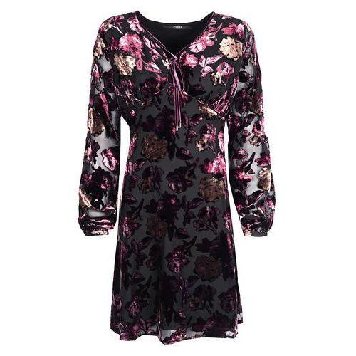 """Guess Sukienka """"Velvet Dress"""" (7613359550565)"""