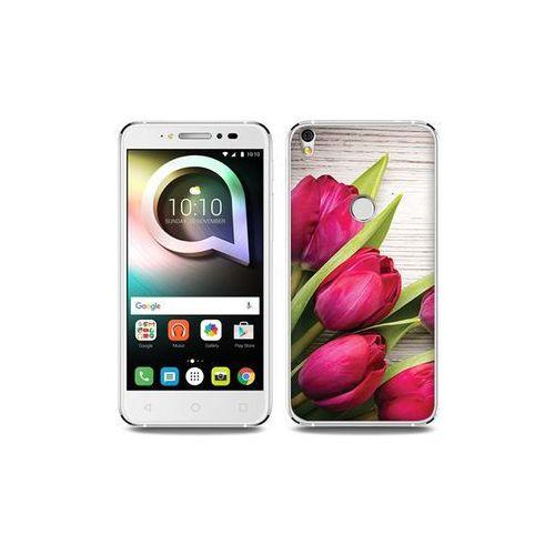 Alcatel shine lite - etui na telefon foto case - czerwone tulipany marki Etuo foto case