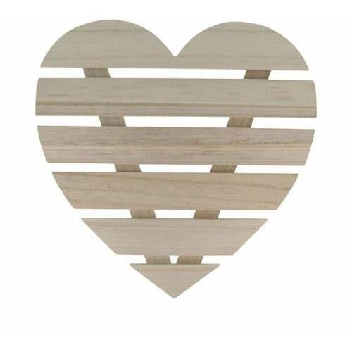 Artemio Drewniane serce 30x30 cm - rękodzieło (14002317)
