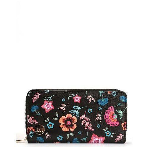 Mi-pac Portfel - zip purse crafted folk black (a52)