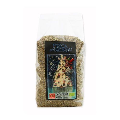 Yerba mate cachoeira (sezonowana) bio 500 g - pizca del mundo marki Pizca del mundo (czekolady, kawy, yerba mate ft)