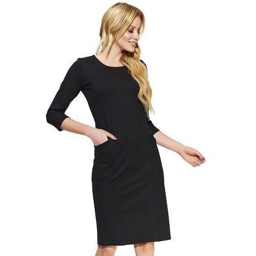 Makadamia sukienka damska 36 czarna (5902041666328)
