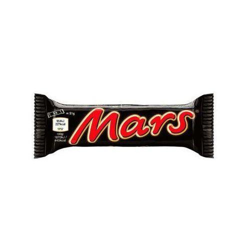 Mars Baton z nugatowym nadzieniem oblany karmelem i czekoladą 51 g (5000159407236)