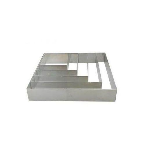 Rant cukierniczy ze stali kwadratowy de Buyer 6 x 6 cm T-6866