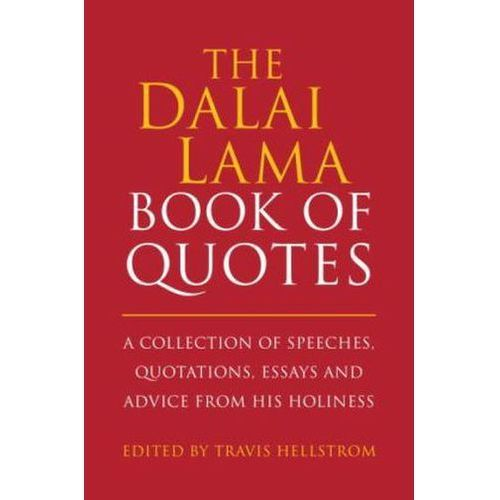 Dalai Lama Quotes Book, Hellstrom, Travis