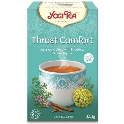 Yogi tea, usa Herbata na gardło bio (yogi tea) 17 saszetek po 1,8g (4012824401426)