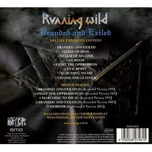 Running Wild - Branded And Exiled [CD Deluxe Expanded Edition], 4050538274615