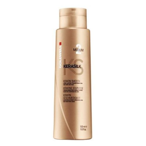 kerasilk keratin smooth medium treatment | keratynowy zabieg prostowania 500ml marki Goldwell