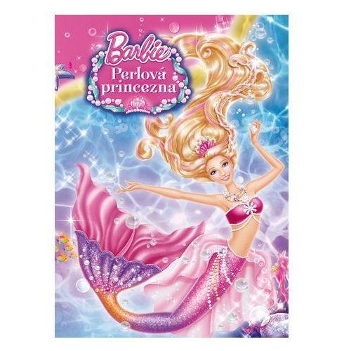 Barbie a perlová princezna Čtení se samolepkami marki Mattel