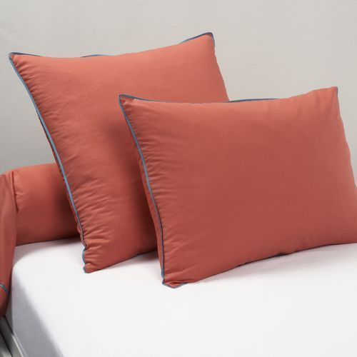 Poszewka na poduszkę lub wałek, z perkalu, duo marki La redoute interieurs