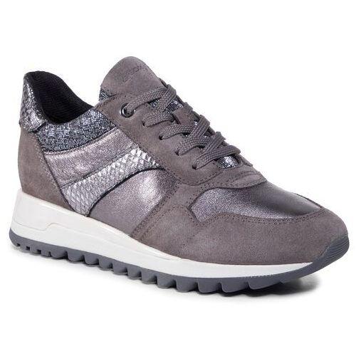 Sneakersy GEOX - D Tabelya A D04AQA 0Y222 C9F1G Dk Grey/Gun, w 7 rozmiarach