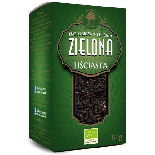 Herbata zielona liściasta bio 80 g - dary natury marki Dary natury - herbatki bio