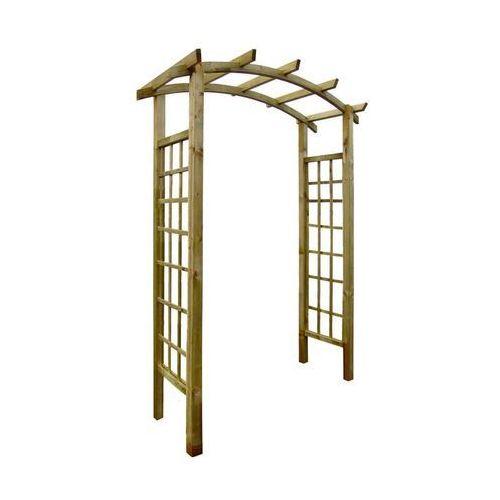 Stelmet Pergola ogrodowa 160 x 72 x 221 cm drewniana (5900886188968)