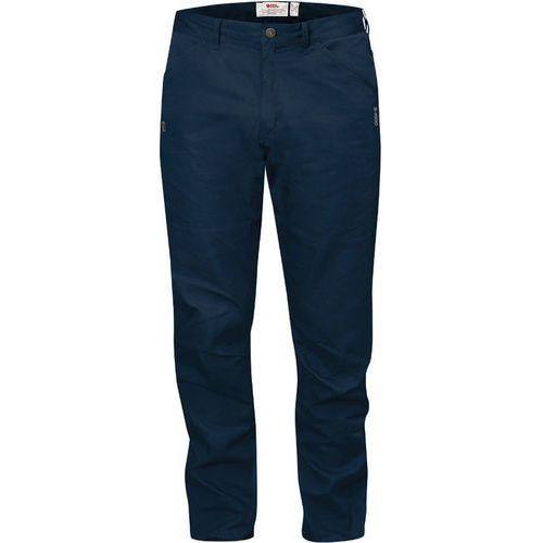 Fjällräven High Coast Spodnie długie Mężczyźni niebieski 50 2018 Spodnie i jeansy