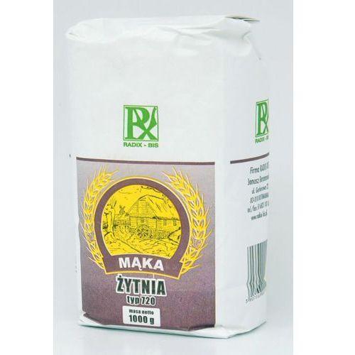 Mąka żytnia typ 720 1000g - radix marki Radix-bis