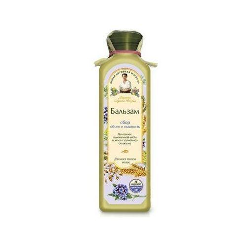 Babuszka Agafia Balsam do włosów jasny - objętość i puszystość do wszystkich rodzajów włosów 350ml, BIOSFERA