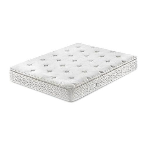 Beliani Materac kieszeniowy 160x200 cm - memory foam - multipocket - luxus (7081457016595)