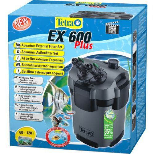 Tetra filtr zewnętrzny ex 600 plus z pokarmem tetra gratis! (4004218240926)