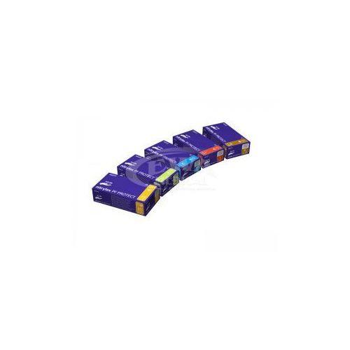Rękawice Nitrylowe Nitrylex bezpudrowe PROTECT S 100szt blue - sprawdź w wybranym sklepie