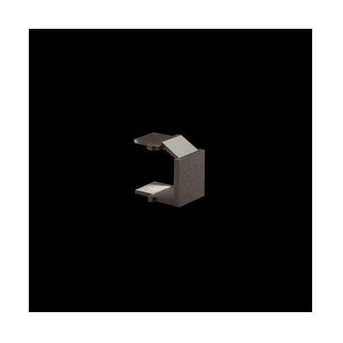 Zaślepka otworu wtyku rj45/rj12 do pokrywy gniazda teleinformatycznego; antracyt marki Kontakt-simon
